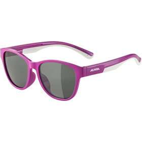 Alpina Flexxy Cool Kids II Glasses Kids, berry/white/black mirror